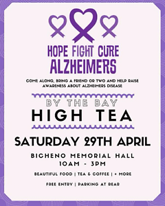 Alzheimers Awareness Fundraiser Bicheno Glamorgan Area Preview