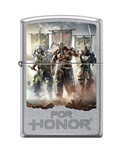 Zippo 2521, For Honor-Ubisoft, Action Gaming, Street Chrome Finish Lighter