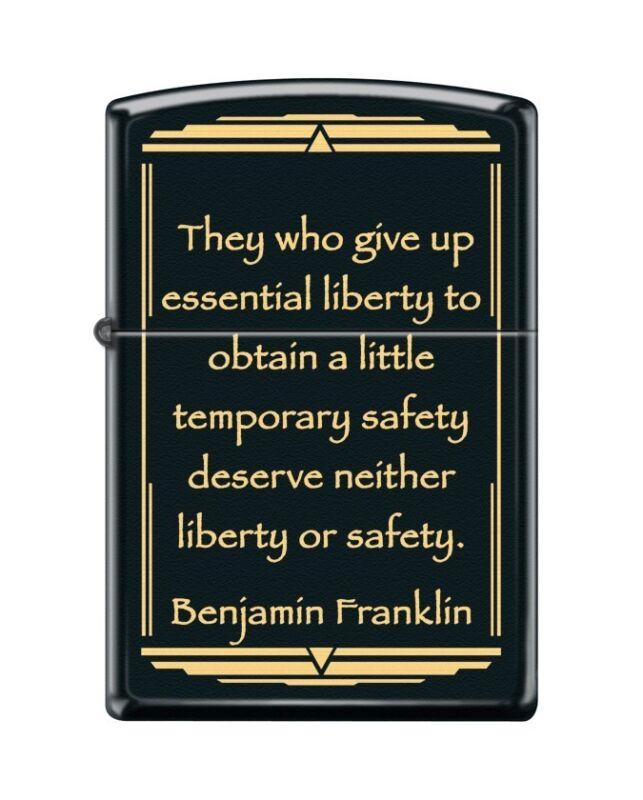 NEW ZIPPO AMERICAN WISDOM SERIES LIGHTER-FRANKLIN #1-RARE 1ST EDITION-FAST SHIP!
