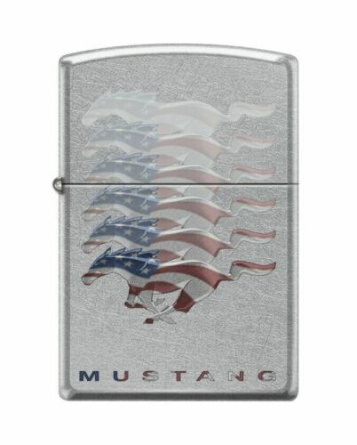 Sweet Ford Mustang Patriotic Pony Zippo Lighter