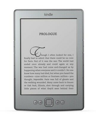 Amazon Kindle - 4th Generation - 2GB - Wi-Fi - Gray - Tablet / E-Reader