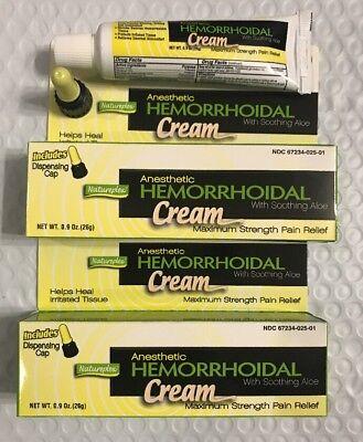 2 Hemorrhoid Hemorrhoidal Cream Aloe For Soothing Natureplex Max Strength (Hemorrhoid Cream)