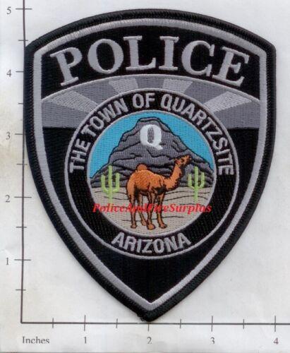 Arizona - Quartzsite AZ Police Dept Patch