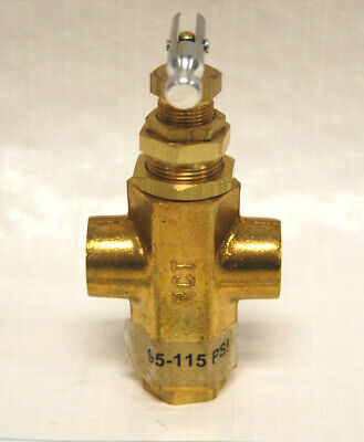 P2595-125 14 Fpt 95-125 Psi Pilot Valve For Gas Powered And Electric