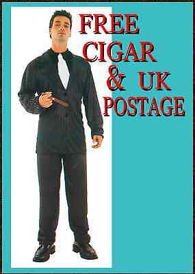OSTUME TIE SPIV PIMP GIANT CIGAR  (Gangster-suit)