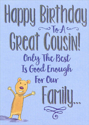 Designer Greetings Only the Best is Good Enough Birthday Card for