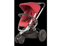 For sale is our quinny buzz Automatic unfolding Pushchair RED