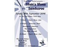 Stan's Blues Jamboree at Poole Blues Festival- Sunday 18th September 2016 1pm-7pm