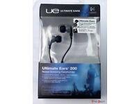 Logitech Ultimate Ears 200 Noise-Isolating Earphones - Blue