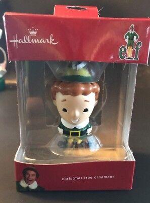 Hallmark Buddy the Elf Movie Christmas Tree Ornament Will Ferrell 2017 ()