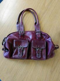Red handbag for sale - £8