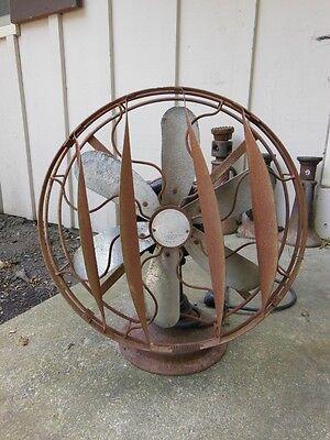 """Cincinnati Victor Co. """"AIRPLANE """" Elec. Fan- 6 Blades-Breeze Spreader-Original"""