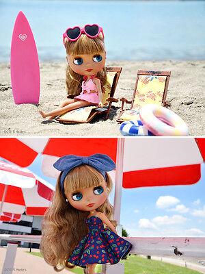 Takara Tomy CWC Neo Blythe Cherry Beach Sunset 1/6 Fashion Doll On Stock Now!!