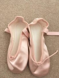 Pink Satin Ballet Shoes Child's size 11.5