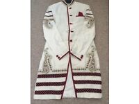 Groom Asian wedding suit