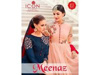 RSF MEENAZ WHOLESALE DESIGNER ANARKALI SUITS