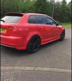 Audi S3 replica 2.0 litre tsfi quattro. 2005 Used, 133,000 miles on the clock. Alloy Wheels.