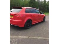 Audi S3 replica 2.0 litre tsfi quattro. 2005 Used, 133,000 miles on the clock. Alloy Wheels.