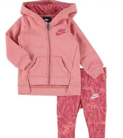 Official Nike Baby Girls Tracksuits