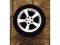 Mercedes c220 c class s class 5 spoke 16 inch alloy wheel