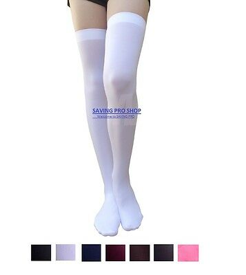 Thigh High Socks (Women Cable Knit Extra Long Boot Socks Over Knee Thigh High School Girl)