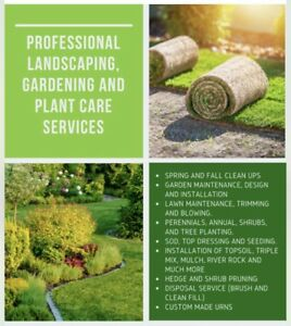 Lawn and Garden Maintenance