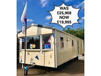 Cheap static caravan for sale Skegness Not Haven east coast 3 bedroom