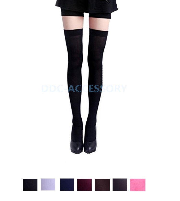 New Hot Womens Ladies Girls Fashion Thigh High Over Knee Soc