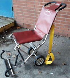 Ferno Ambulance Emergency Evacuation Folding Compact Carry Chair