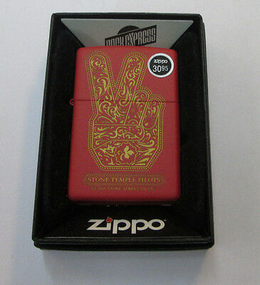 STONE TEMPLE PILOTS ZIPPO LIGHTER AUTHENTIC 2016 LICENSED ROCK N ROLL