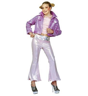 Jazz Pop Star Set Pink Childrens Girl Fancy Dress - Pop Jazz Kostüm