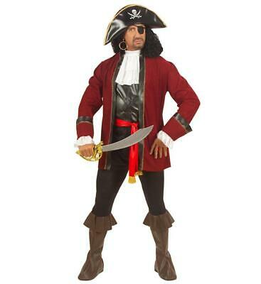 Booty Island Pirate XLarge Buccaneer Adult Mens Fancy Dress Costume Adult Pirate Booty