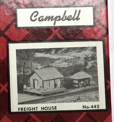 Campbell Scale Models Kit #442 Freight House -  HO scale