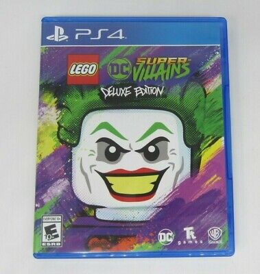 LEGO DC Super-Villains Deluxe Edition - PlayStation 4 (VG) READ
