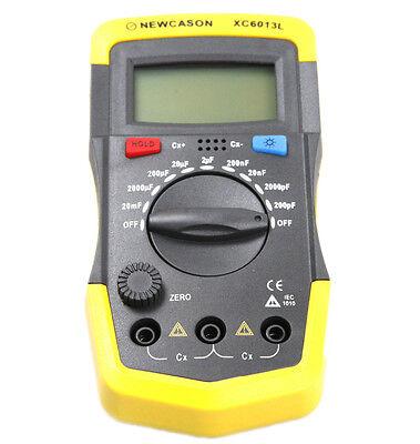 Digital Lcd Xc6013l Capacitance Capacitor Meter Tester Tool Mf Uf Circuit Gauge