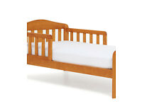 Mothercare Darlington Toddler Bed with Twist Natural Latex Cot Bed Mattress