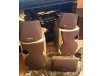 Kenwood 5.1 speakers