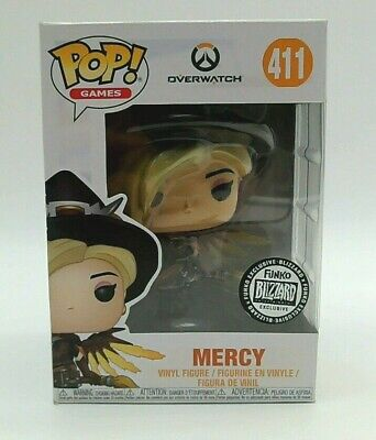 BLOWOUT DEAL Funko Pop! Overwatch Witch Mercy Blizzard #411 BOX DAMAGE - Varies