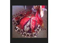 Asian Bridal Mehndi Lengha