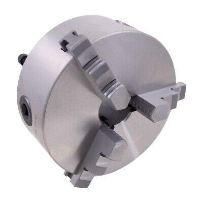 10 Size R/öhm ZSU-250-3 Steel Self-centering Lathe Chuck with 3 Base and Reversible Hard Top Jaws D1-8 Camlock Spindle Mount Pack of 1