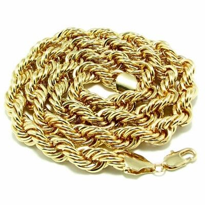 - Rope Chain Hip Hop BIG LONG Necklace 36