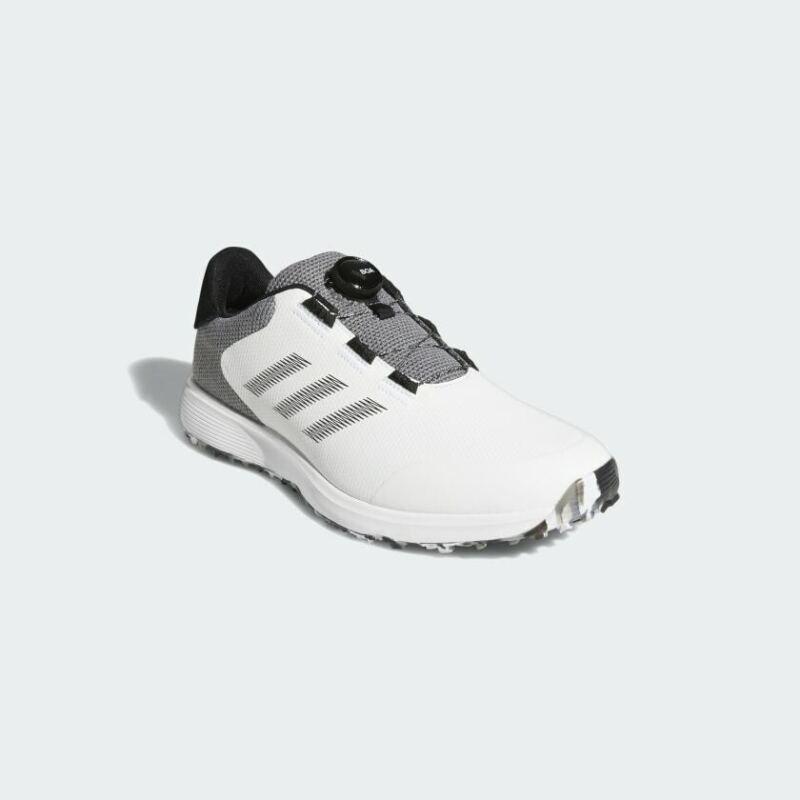 Adidas S2G BOA Spikleless Golf Shoe FW6312 White/Black/Grey - New 2021
