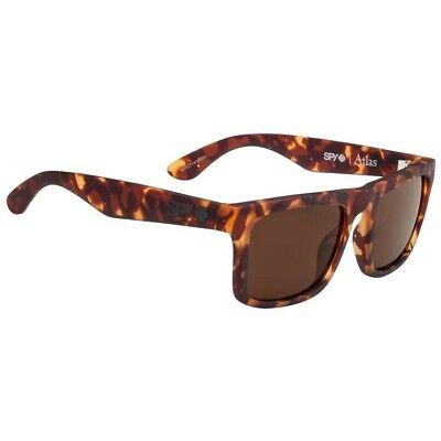 Spy Atlas Sunglasses For Men Women Soft Matte Camo Tort MX BEACH SURF HAPPY LENS