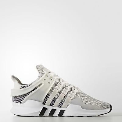 Mens Adidas Eqt Equipment Support Adv Footwear White Grey One By9582