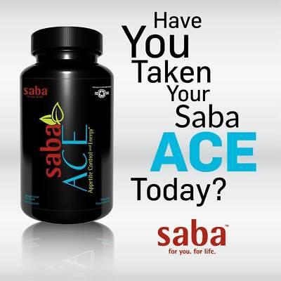 New Formula Saba Ace 60 Ct Bottle Or Packs   Sealed New