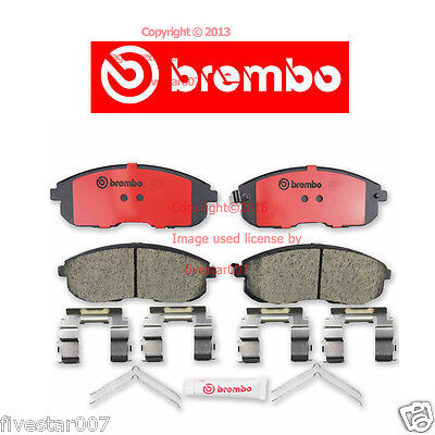 brembo Front Disc Brake Pad Set for Cars With ALL Wheel Drive for Infiniti G35