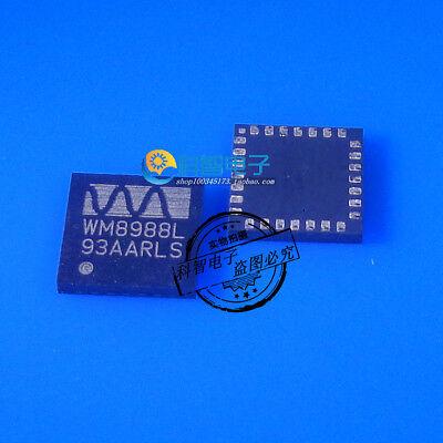 5X WM8988L WM8988LGECN/RV Stereo CODEC for Portable Audio Applications QFN - Rv-stereo