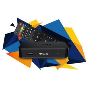 MAG322 AND BUZZTV LATEST IPTV BOXES TO WATCH LIVE TV