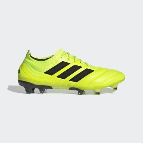 Adidas Copa 19.1 Fg Mens Firm Ground Soccer Cleat Solar yellow/Black F35519 8-13