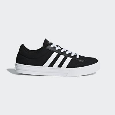 Mens Adidas VS Set Black/White Trainers (CMF12) RRP £44.99